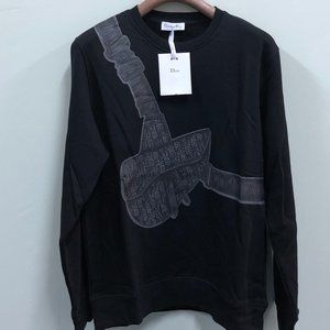 Christian Dior Black Bag Pattern Men NWT Sweat